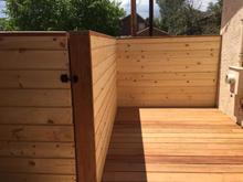 Redwood and Cedar Deck