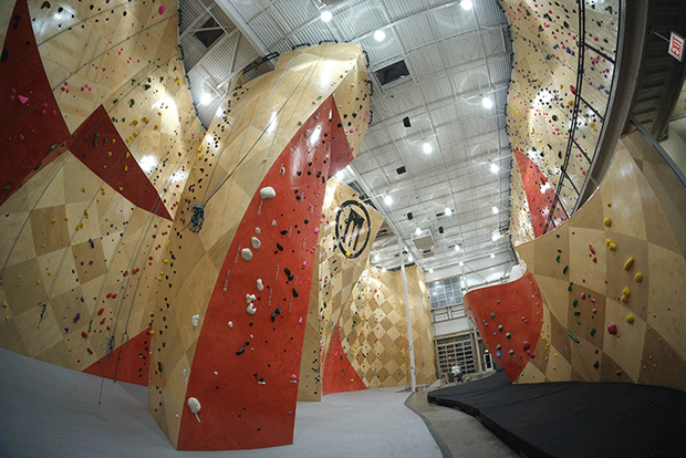 Rock-Climbing Lead Walls