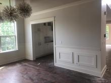 Doorway and Panelling