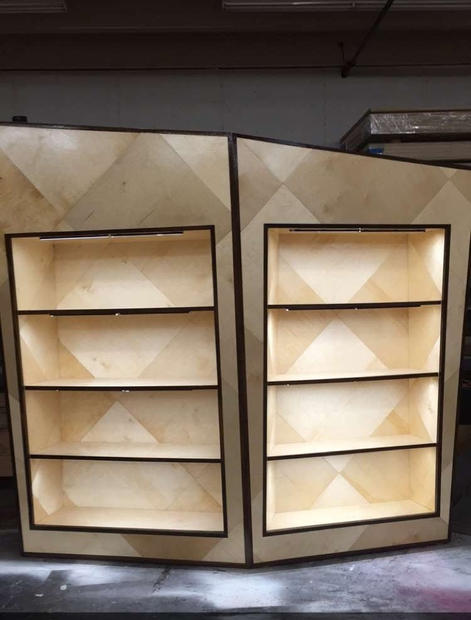 Birch Shelves