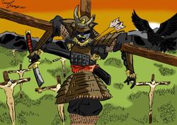 Japanese Crucifixion