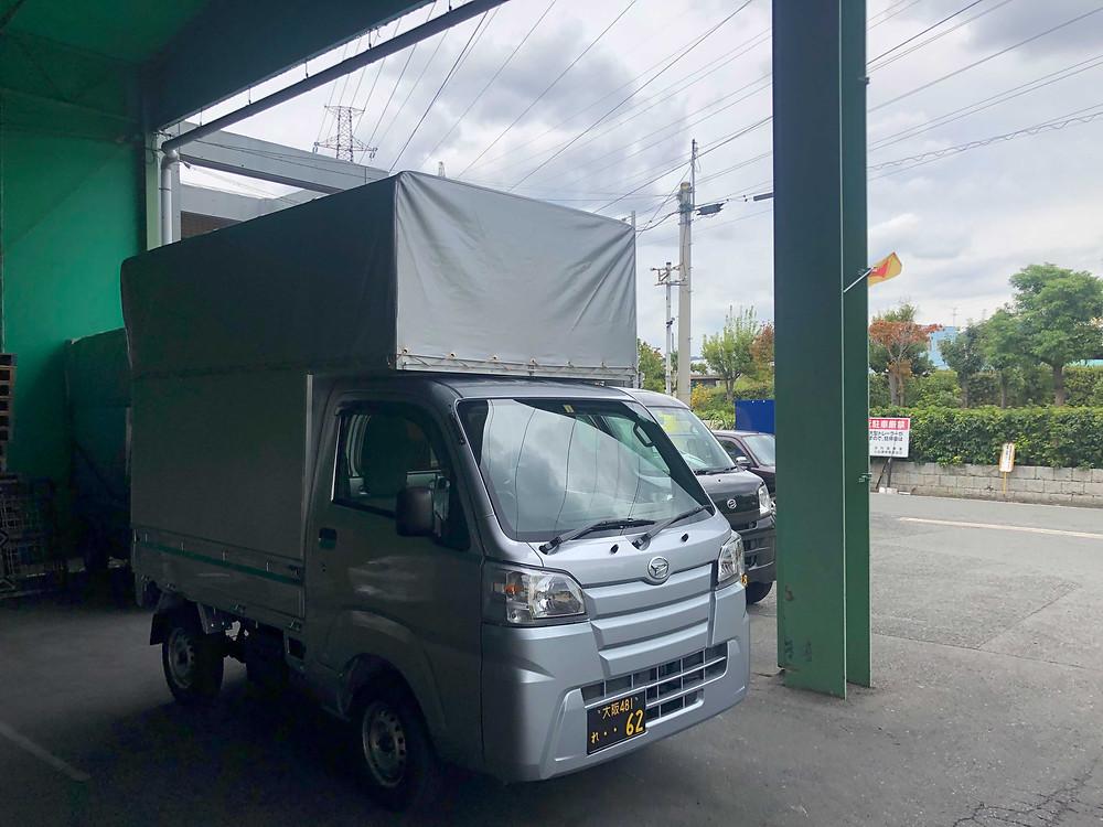 アシストラインの軽貨物トラック