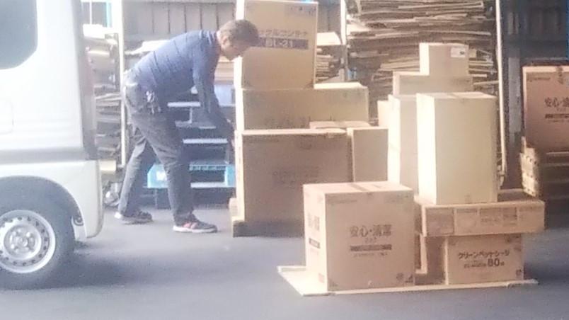 アシストラインの倉庫活用