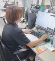 アシストラインの本社-事務作業②
