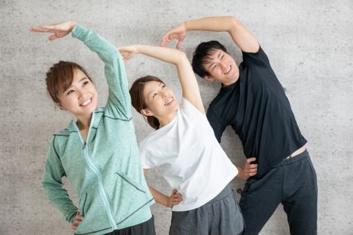 ラジオ体操で腰痛予防