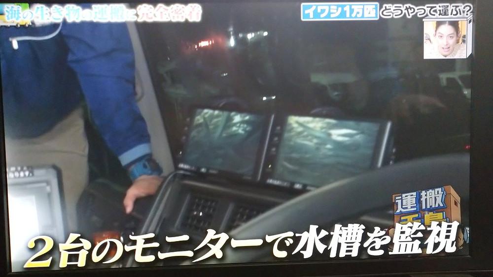 運搬千鳥「静岡県~福岡県の水族館にイワシを1万匹運送する」2