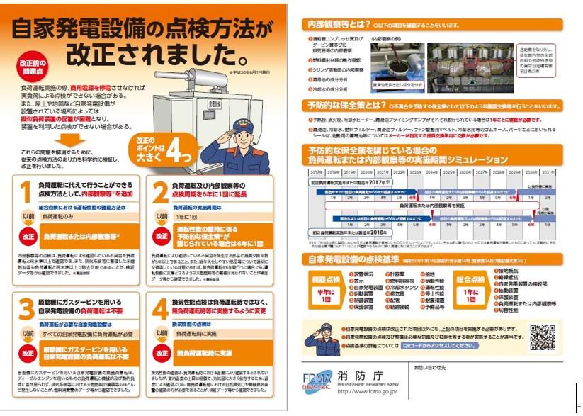 消防法の改正が2018年6月に実施