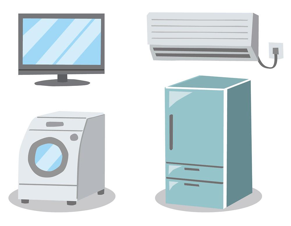 冷蔵庫 洗濯機 運送