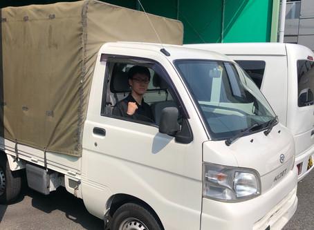 新入社員-松岡君-初めての現場です