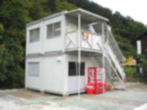 工事現場の仮設事務所