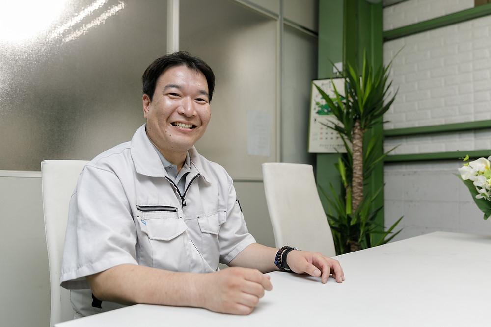 アシストラインの青葉寝屋川営業所-所長兼常務取締役