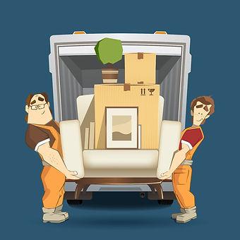 荷物の引取り 保管