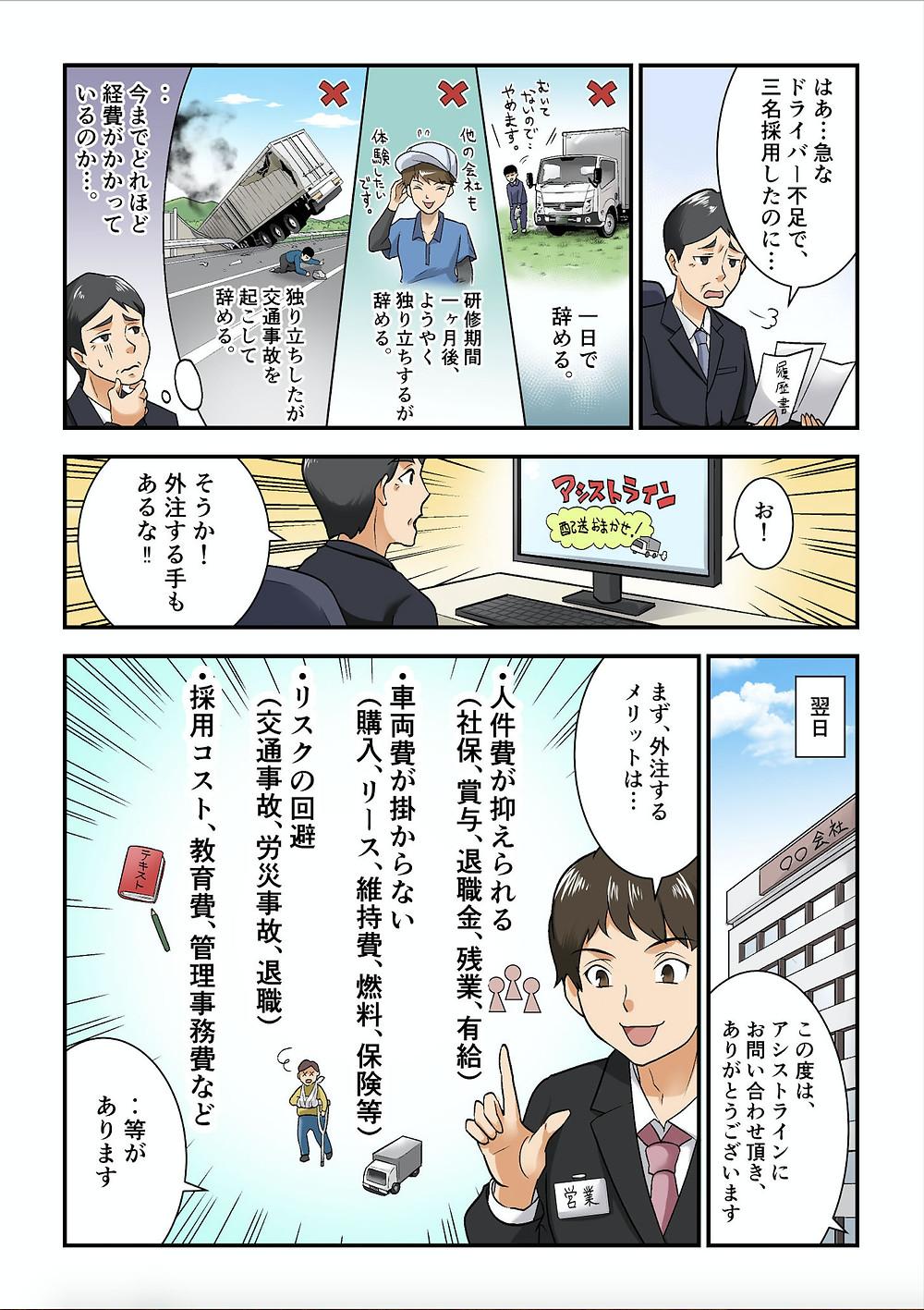 大阪軽貨物運送 外注