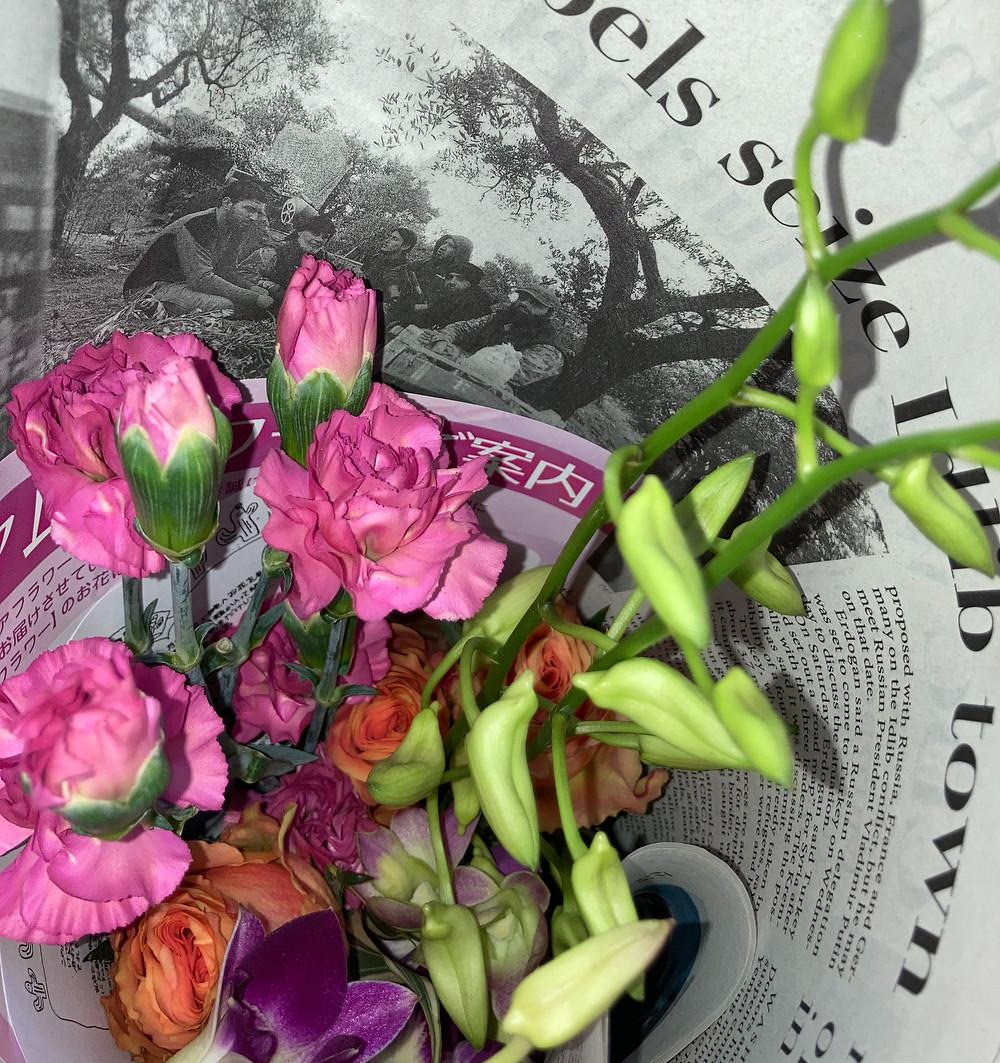 アシストラインのお花の宅配サービス