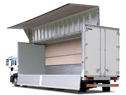 大阪 運送 ウイング車
