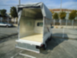 軽貨物/引越仕様の幌車画像