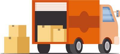 運送ではの㎥を使って 荷物のサイズを計ります