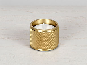 1. Tealight_Candle_Holder_Brass_Front_of