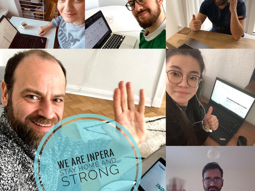 We are inpera, we stay home and strong