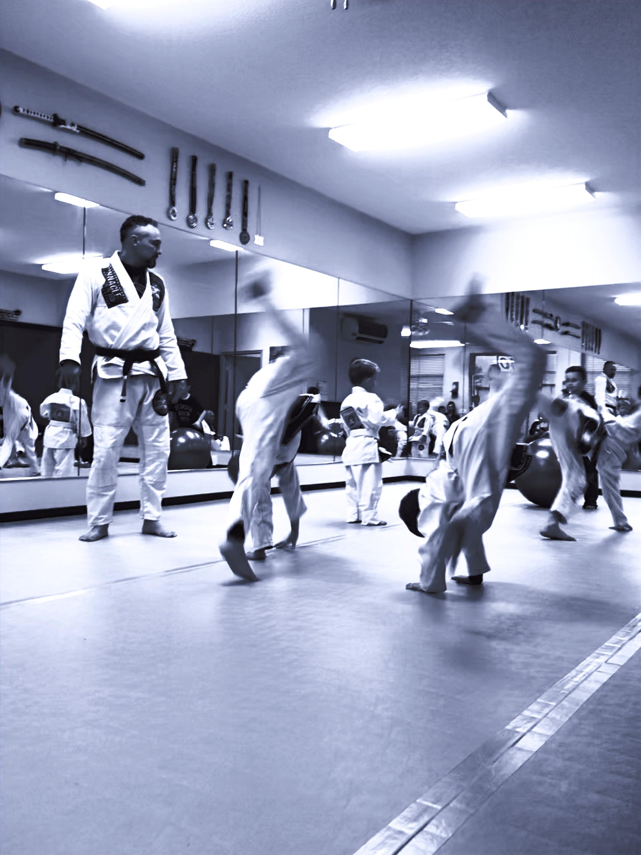 Youth Brazilian Jiu Jitsu Class