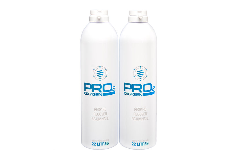 2x PRO2 22 Litre Refill Canisters (44 Litres)