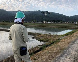 農薬空中散布|吉田農事