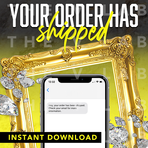 Order Shipped#1 - Yellow