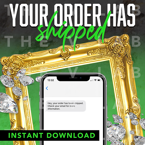 Order Shipped#1 - Green