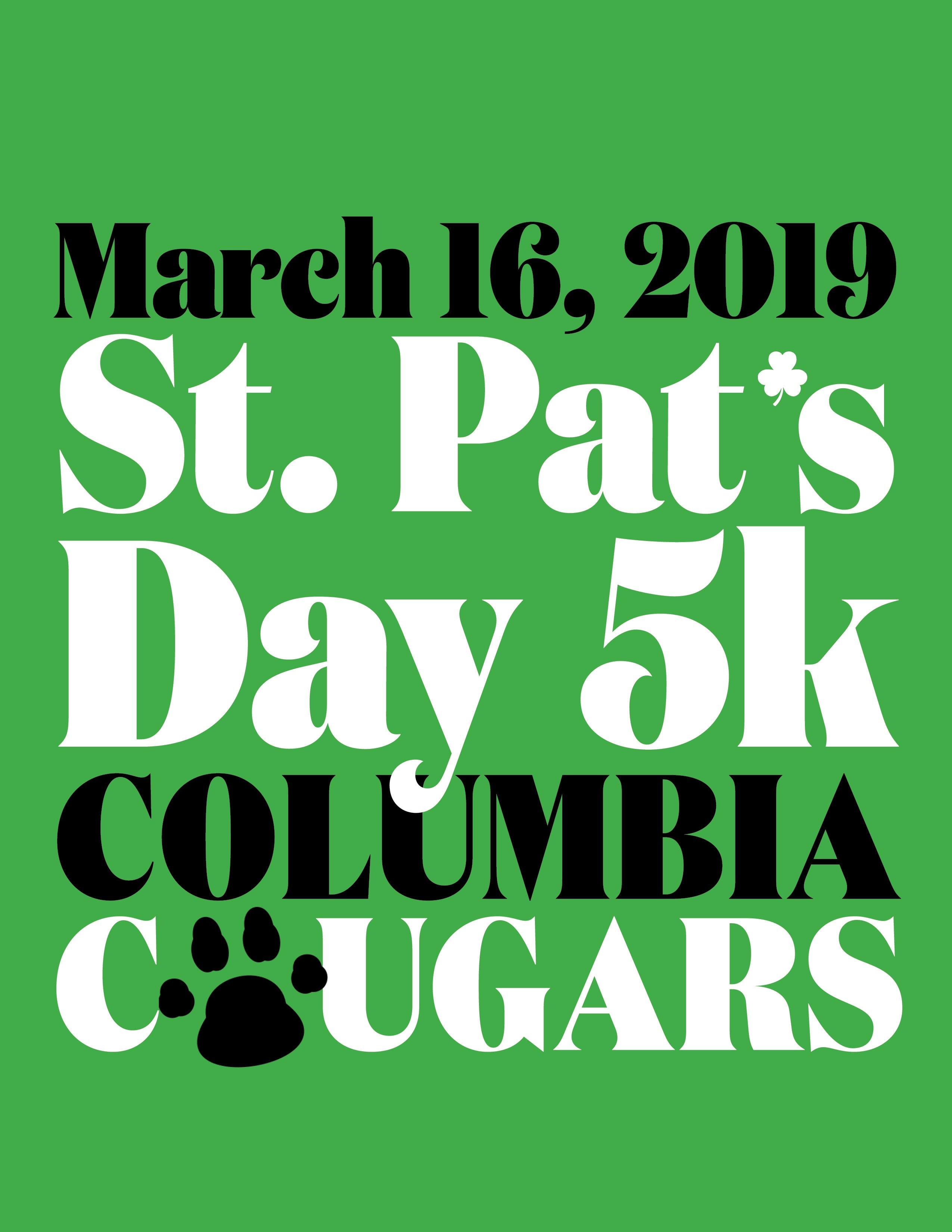2019 CHS St  Pat's Day 5K