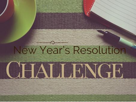 New Year's Resolution Challenge