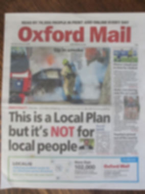 OxfordMail 8th Feb 2020 front page.JPG