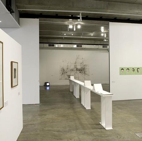 Installation, Interior - the dust absorbs 2009