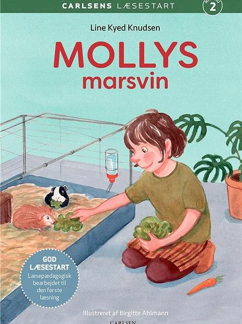Line Kyed Knudsen, Carlsens Læsestart: Mollys marsvin