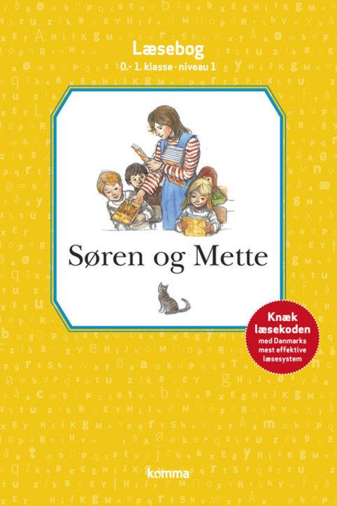 Knud Hermansen;Ejvind Jensen, Søren og Mette læsebog 0.-1. kl. Niv. 1