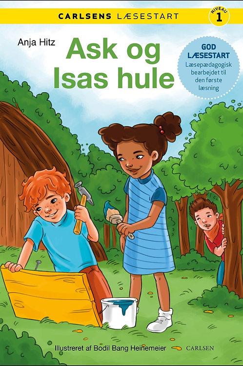 Anja Hitz, Carlsens læsestart - Ask og Isas hule