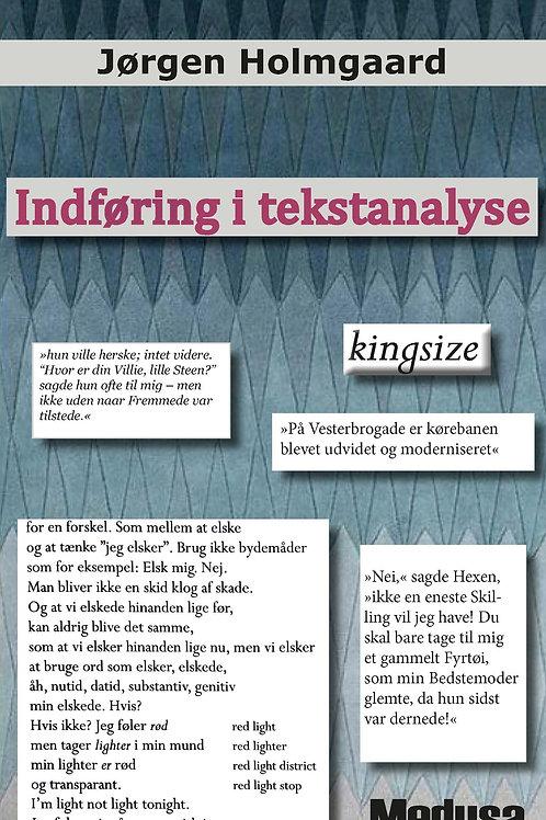 Jørgen Holmgaard, Indføring i tekstanalyse