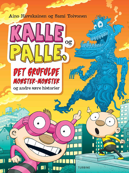 Aino Havukainen, Kalle og Palle, det grufulde monster-monster og andre sære hist