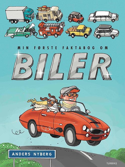 Anders Nyberg, Min første faktabog om biler