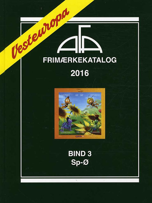 AFA Vesteuropa 2016 Bind 3