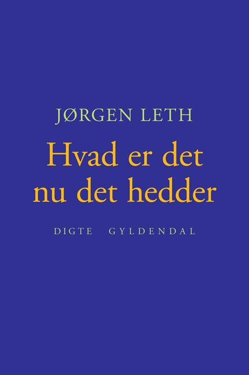 Jørgen Leth, Hvad er det nu det hedder