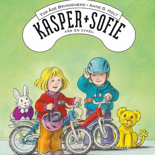 Tor Åge Bringsværd, Kasper og Sofie får en cykel