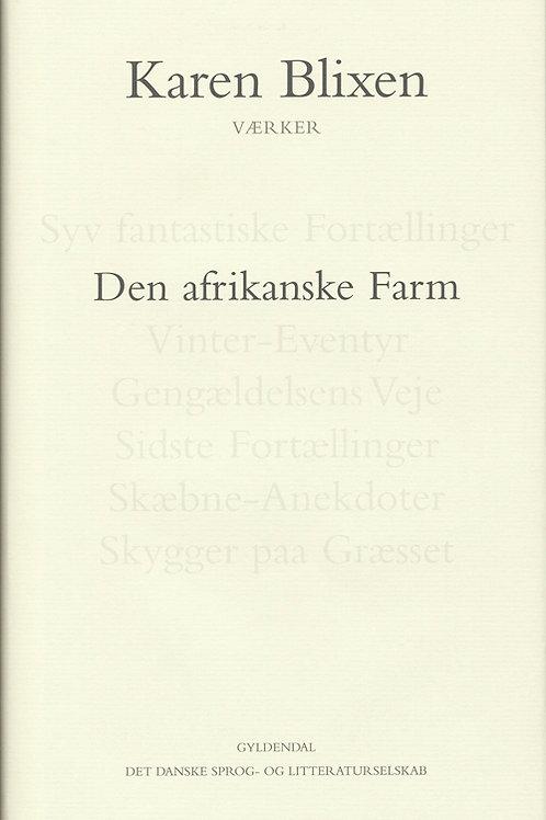 Karen Blixen, Den afrikanske Farm