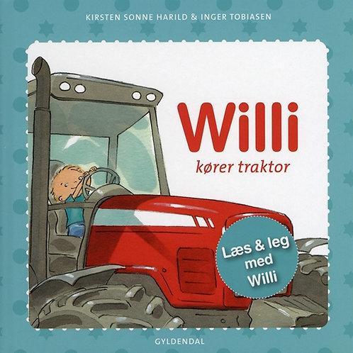 Kirsten Sonne Harild;Inger Tobiasen, Willi kører traktor