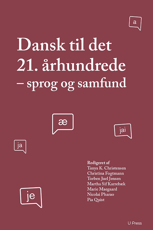 Torben Juel Jensen, Christina Fogtmann, Martha Karrebæk, Marie Maegaard, Nicolai