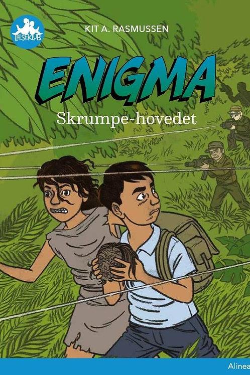 Kit A. Rasmussen, Enigma, Skrumpe-hovedet, Blå læseklub