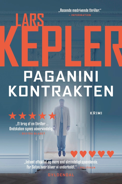 Lars Kepler, Paganinikontrakten