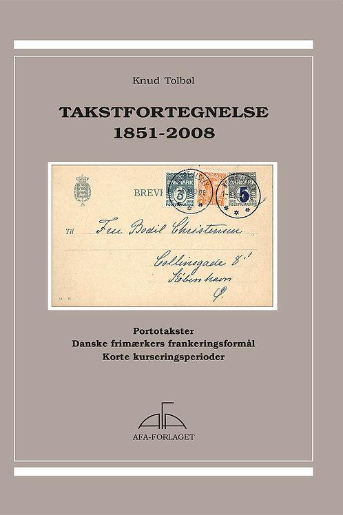 Knud Tolbøl, Takstfortegnelse 1851-2008