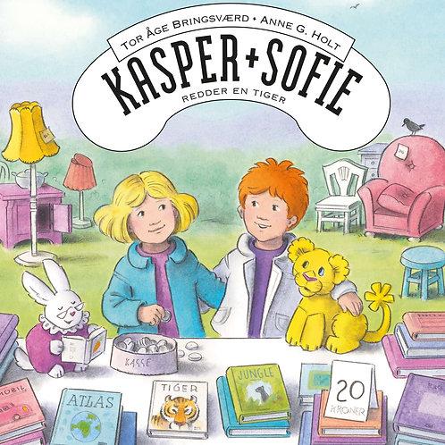 Tor Åge Bringsværd, Kasper og Sofie redder en tiger