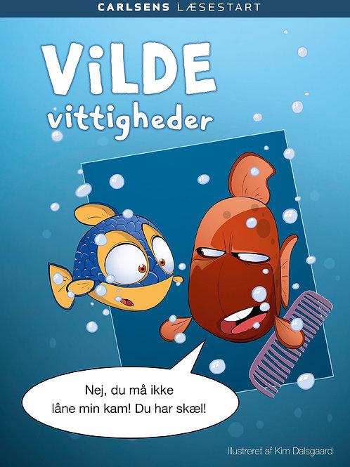 Kim Dalsgaard, Carlsens Læsestart: Vilde vittigheder