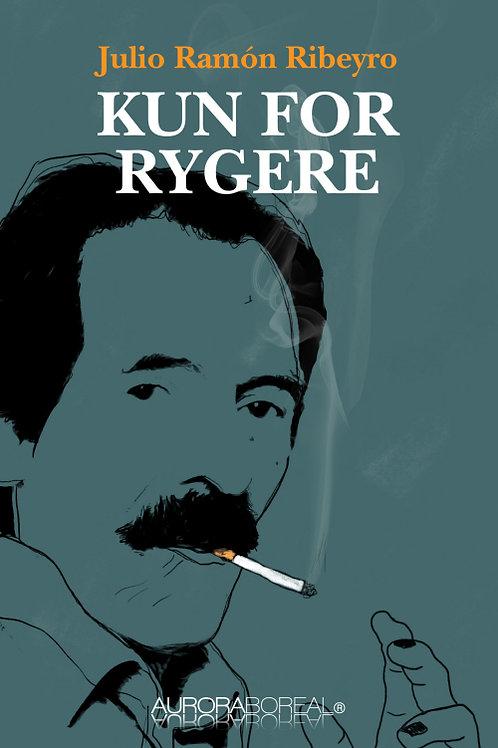 Julio Ramón Ribeyro, Kun for rygere
